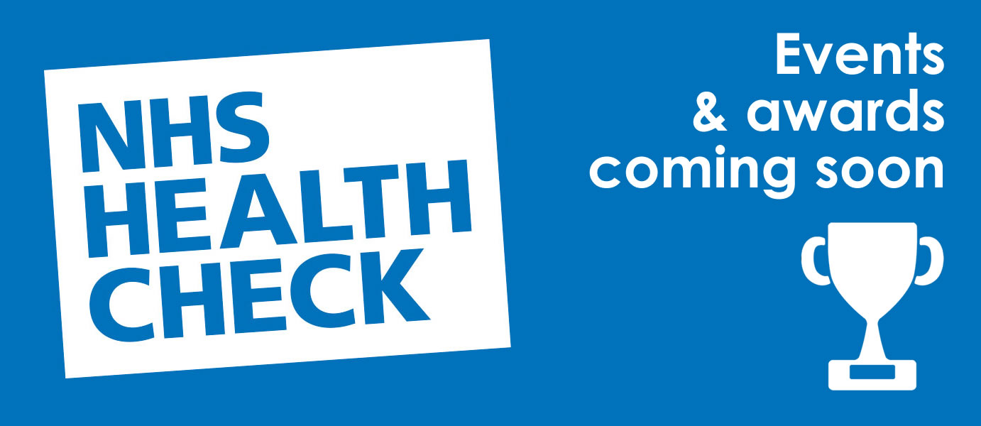 NHS Health Check events and awards: apply now!